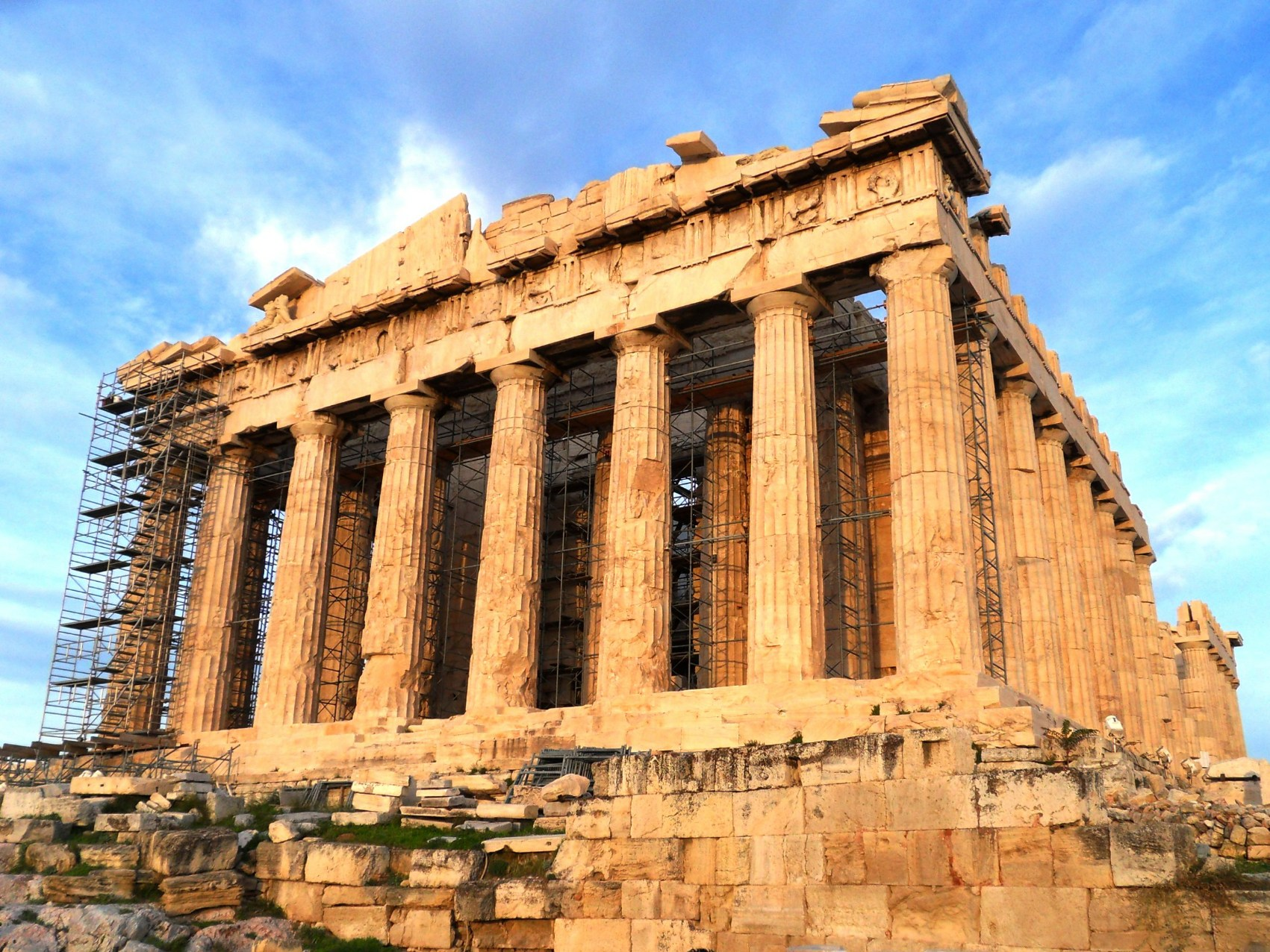 famous historic buildings archaeological site in greece athens