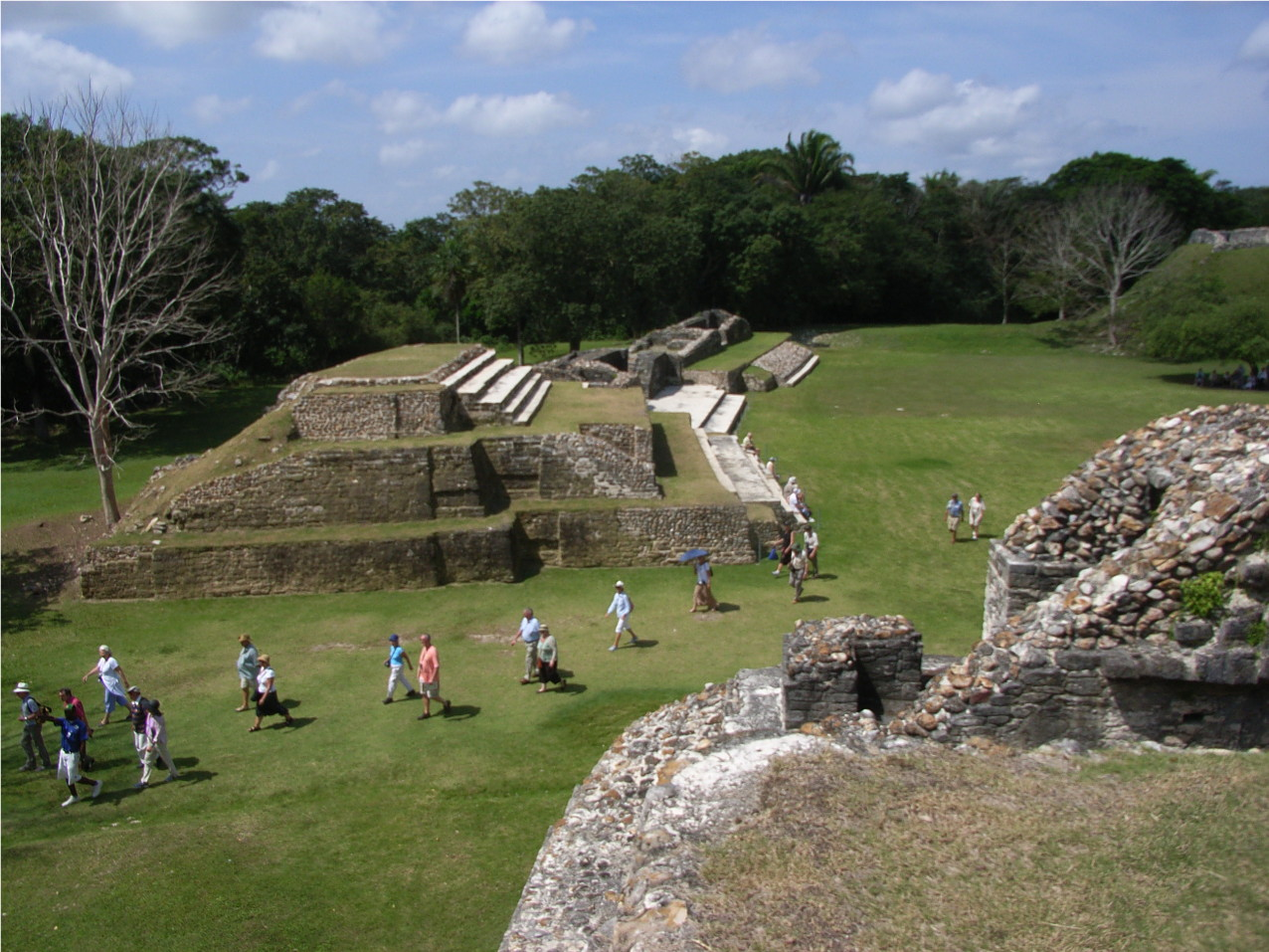 Altun Ha Maya City And Archaeological Site Belize