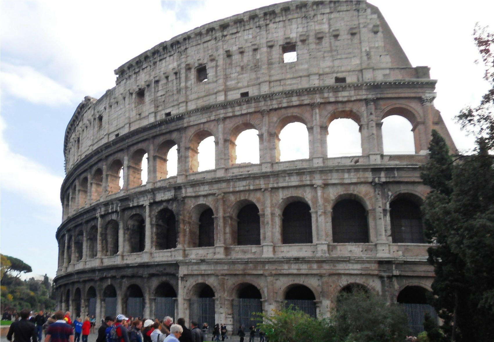 Famous Historic Buildings Archaeological Site In Italy Rome Colosseum Forum Pantheon