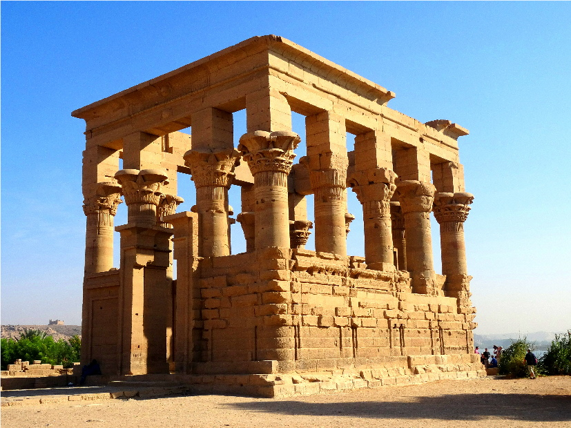 famous ancient architecture. Temple Of Philae Famous Ancient Architecture