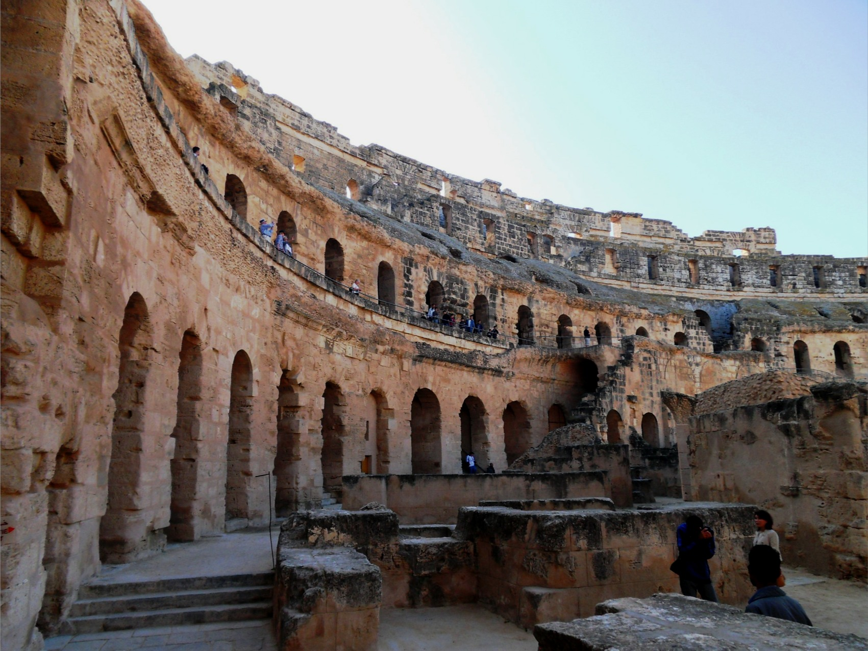 The City Of El Djem (also Spelt El Jem) Is Situated Inland From The East  Coast Of Tunisia 60 Km South Of Sousse. Built On A Former Punic Settlement  It Was ...