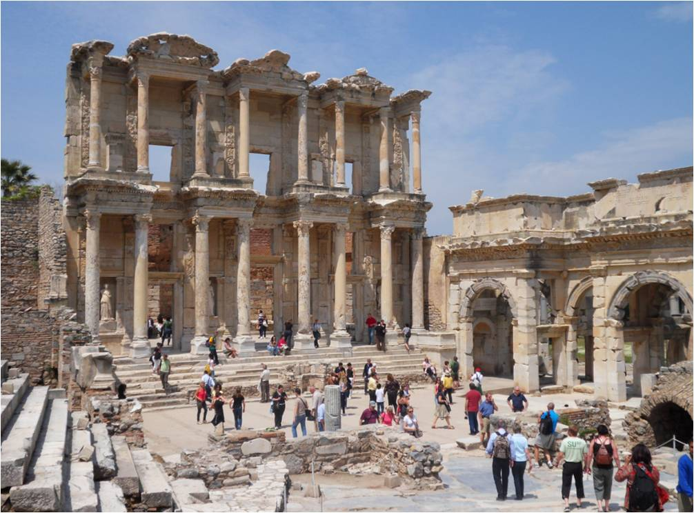 Famous Ancient Greek Architecture. Famous Historic Buildings Archaeological  Sites In Turkey