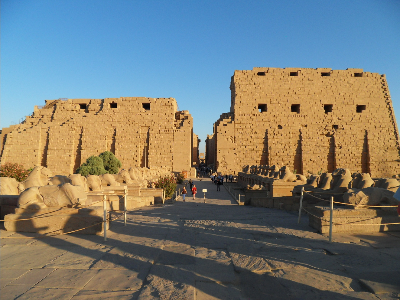 Karnak Temple is part of the history of Ancient Egypt
