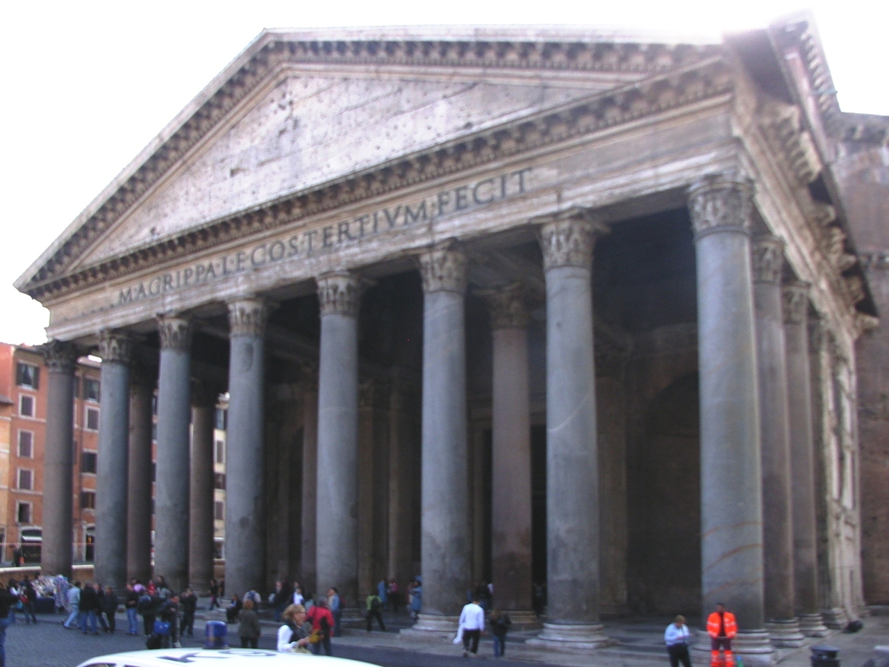 Famous Historic Buildings Archaeological Site In Italy Rome