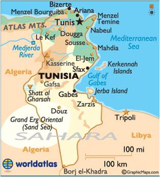 Famous Historic Buildings Archaeological Sites in Tunisia