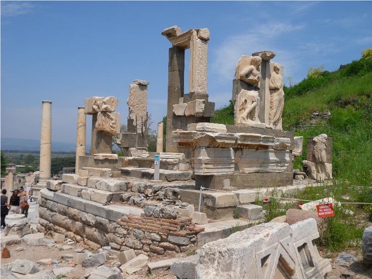 Famous Ancient Architecture famous historic buildings & archaeological sites in turkey