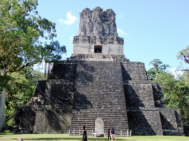 Tikal_Temple_II_Front